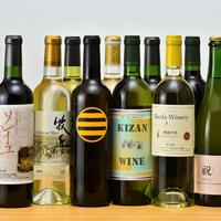 ◆特典付◆山梨といえば♪2名様毎にワイン1本プレゼント!季節の料理に併せてご用意♪