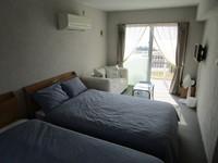 セミダブルベッドを2名様で利用するお得な素泊まりプラン