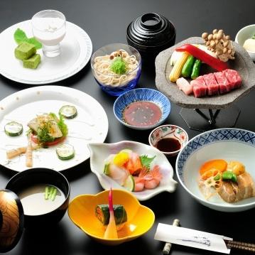 お料理満喫!【季節の国産牛ロース肉のお料理と信州蕎麦】プラン