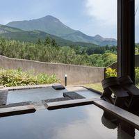 【伽羅-きゃら-】小さな庭付き由布岳ビュー 和洋室 離れ