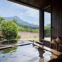 【石竹-せきちく-】小さな庭付き由布岳ビュー 和洋室 離れ
