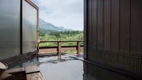 【蘇芳-すおう-】客室&露天風呂から由布岳ビュー 和洋室離れ