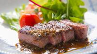 ■グレードアップ■おおいた和牛ステーキと季節のお造り◆客室露天で優雅なひととき◆1泊2食付プラン