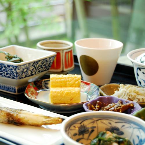 """『月ノ想-スタンダード-朝食』快適な朝に""""美味しい""""をお届け!地元の食材を味わう♪"""