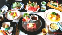 【浴衣で和洋食】グルメなあなたに!夕食は飛騨牛ステーキ付き温泉ディナー