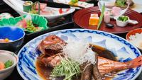 """【夕食グレードアップ】水揚げ量日本一の静岡。絶品""""金目鯛の煮付け""""を食す"""