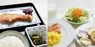 和定食・洋定食選べる朝食付き喫煙シングルプラン