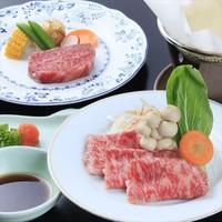 【山形県民限定】米沢牛&山形牛食べ比べプランが2000円お得!夕食は個室会食場