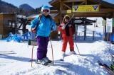 手軽に温泉スキー♪ゲレンデ目の前!冬の基本プランA(笠岳&ゲレンデ眺望バストイレ付和室)