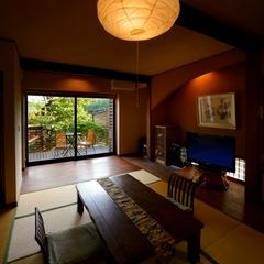 【月庭〜つきてい〜】20畳和室 専用デッキ付◆特別室◆