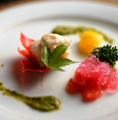 【フルボトルシャンパン+ぷちケーキ付】 大切な記念日を彩る美食会席アニバーサリープラン