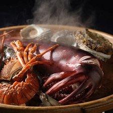 【日本酒好きな方に】海鮮5種浜焼きプラン!料理に良く合う★3種地酒セット特典付★【お部屋食可】