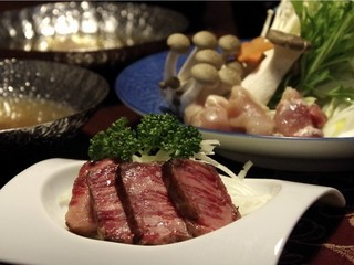 【グレードアップ】宮崎A4等級霜降り宮崎牛&小林産豚&小林産若鶏のお肉三味満喫プラン!