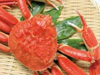 【別注料理☆本ずわい蟹の姿付き】1泊2食付きバイキングプラン♪