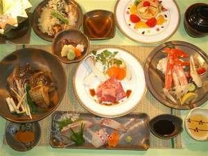 【得々】会席・UPコースのしゃぶしゃぶ・他♪夕食は6種類から朝食は和洋のチョイスが可能です!2食付き