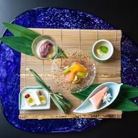 【料理長おすすめ会席】金目鯛姿煮・あわびなど海の幸満載&選べるデザート