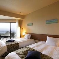 【ホテル客室】オーシャンビューウッドテラスルーム【禁煙】