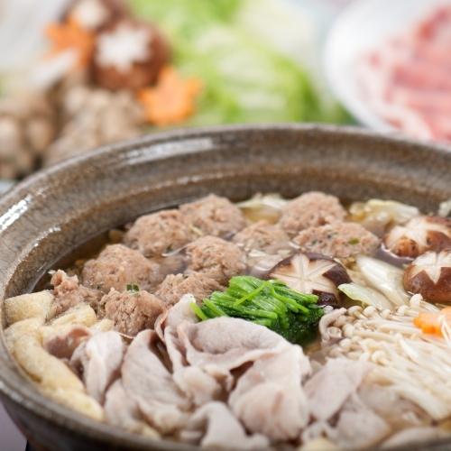 【お部屋食・富士の国ポーク鍋】時間も気にせず調理もラクラク「ポーク鍋」パーティープラン