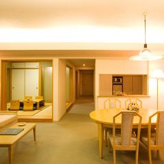 6畳和室付デラックス和洋室・上層階確約【禁煙・84平米】