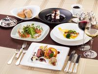 【お日にち限定】国産牛肉、信州サーモンや海の幸などの本格フレンチプラン