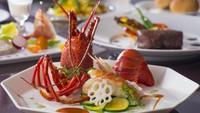 【夕食はホテルで特選洋食】信州プレミアム牛&伊勢海老◆ホテル料理長こだわり特選素材フレンチ