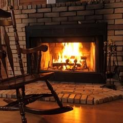 【暖炉付/素泊まり】暖炉の火と温泉で温まる素敵なひととき♪