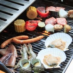 【専用BBQグリル付/素泊まり】お好きな食材を持ち込んで楽々バーベキューを満喫!