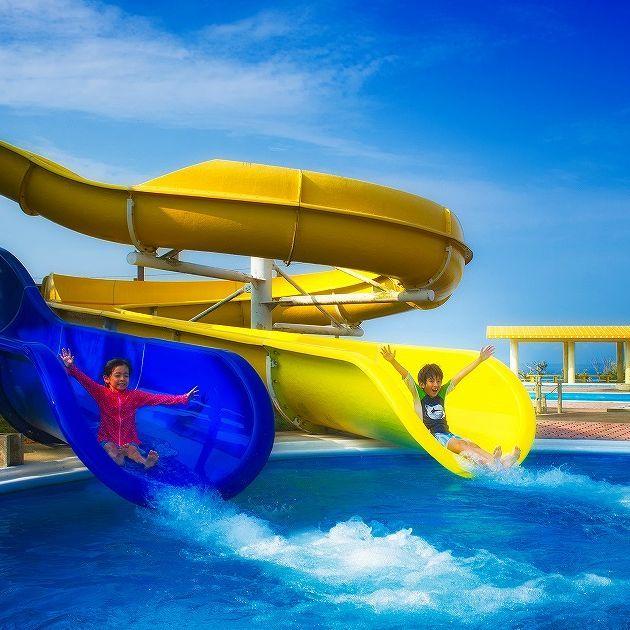 【夏を遊びつくせ☆】スライダー付きレジャープールで遊んだ後は、天然温泉でリフレッシュ♪<朝食付>