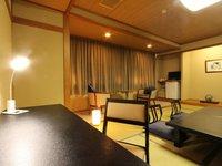 【座敷テーブルと椅子付】ビジネス和室12畳