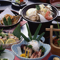 スタンダード二食付◆美味しい日本海の幸を使った定番会席プラン
