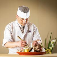 """【-極-半個室食-海浬】お品書きはその日次第。オープンキッチンで味わう""""至高の贅"""""""