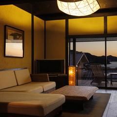 源泉掛流し【8つの離れ家】海一望◆専用露天風呂付客室