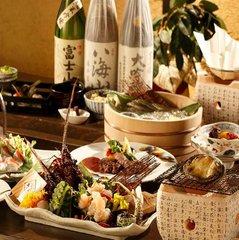 ◆◆贅を尽くす◆◆枇杷最上級 自慢の懐石料理「絢爛-けんらん-」★冷蔵庫内フリードリンクの特典付