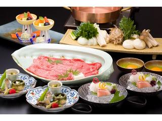 【近江牛すき焼きプラン】☆全室半露天風呂付客室で寛ぐ☆