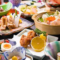 【川俣シャモ会席】<塩焼き×出汁スープ×から揚げ>福島を代表する「ブランド地鶏」を堪能!