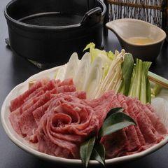 【3種の最高牛・食べ比べ】しゃぶしゃぶorすき焼き 夕食はお部屋食でくずし懐石 露天風呂付客室利用