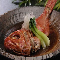 創作くずし懐石+【地金目鯛の姿煮付け】夕食はお部屋でゆっくりと 露天風呂付き客室利用