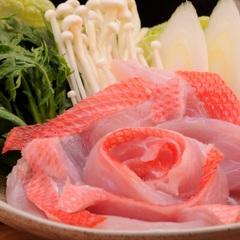味自慢【金目御膳】金目鯛の姿煮&金目鯛しゃぶしゃぶプラン