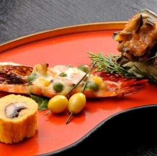 【さき楽28】喜久多スタンダードの料理コースが早期予約割引2名で2160円もお得♪