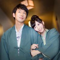 【カップル限定】貸切風呂付き1回無料利用&カップルデザート付プラン