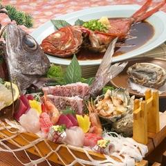 【最高級】板長お任せ!板長の選りすぐりのお料理を。味の宿喜久多スペシャル