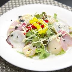 新鮮なお刺身や金目鯛も付きます!喜久多スタンダードのお食事プラン