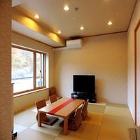 ≪3階全フロアリニューアル完成≫二間和洋室♪源泉の客室風呂も7つの温泉も満喫