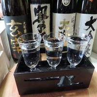 ≪2017年5年連続日本一≫全国新酒鑑評会♪福島県春季鑑評会金賞受賞の22銘柄のうち3種飲み比べ