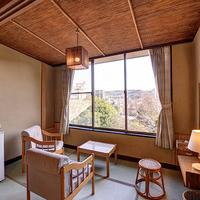 <低層フロア>「一人旅本館」和室8〜10畳(広縁踏込)風呂付