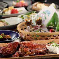 ◆夕朝2食付◆夕食はほっくほくの丸ごと金目鯛!料理長厳選の特選会席プラン♪
