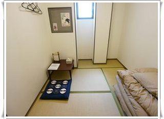 寝るときは落ち着きたい!和室シングル バス・トイレ共用