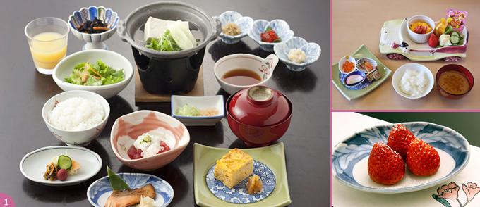 草津ホテルの料理の写真