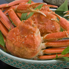 【姿蟹一杯付き】蟹の身・カニ味噌・・ぜーんぶ丸ごと食べれて、大満足★<季節の和懐石プラン+姿がに>