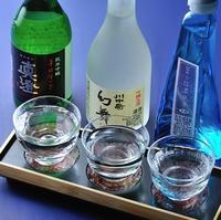 【信州地酒巡りプラン】お奨め三銘酒とスタンダード会席をお部屋出しで愉しむ